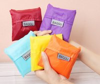 Wholesale Shopping bag Candy color Friendly Shopping Tote Bag pouch Environment Safe Go Green DHL free