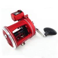 big salt - Boat Fishing Reel Trolling Reel Big Game Casting Wheel Salt Water Reel Deep Sea Drum Wheel Left Rihgt Handle