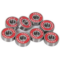Wholesale 8Pcs ABEC Dustproof Skateboard Bearings Skateboard Install Component Parts