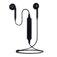 al por mayor clavija de los auriculares celular-Auriculares para teléfonos celulares S6 Auriculares inalámbricos Bluetooth Auriculares para teléfonos celulares Auriculares estéreo para música Soportes para auriculares de voz Bluetooth 4.1