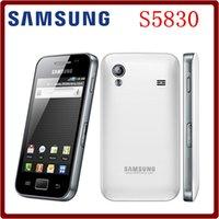 ace bluetooth - Refurbished Original Unlocked Samsung Ace S5830 S5830i MP Camera WCDMA G GPS Bluetooth WIFI Refurbished Touch Screen Smartphone good