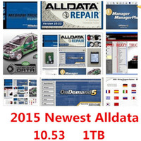 Wholesale 2016 Alldata and mitchell software Alldata Mitchell on demand software in tb usb hdd work for all cars and trucks