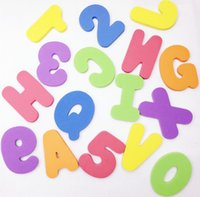 Wholesale 5 sets Classic baby child Puzzle English Alphabet A Z and digits Novelty Educational Foam toy