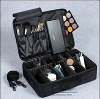 Cheap 2Layers Professional Cosmetic Case Travel Portable Makeup Organizer Storage Boxes Bag Waterproof Beauty Tool Make Up Bolso Mujer