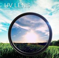 Wholesale New UV Ultra Violet Filter Lens Protector For Camera Canon DSLR SLR DC DV