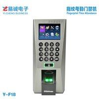 Wholesale ZKS Fingerprint Access Control Time Attendance F18 Access Control system