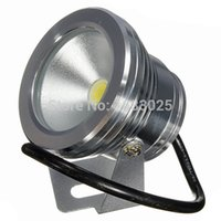 Wholesale New W Underwater LED Flood Wash Light Outdoor Waterproof IP68 Swimming Pool Pond Fountain Lamp Pure White Warm White DC12V