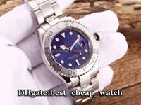asia dating - Super Clone Brand Luxury Watch Automatic Gent Watch Asia mm Blue Dial Stainless steel Men s Watch Cheap Watches