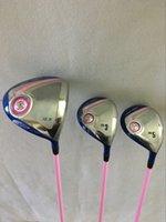 Wholesale Women Golf clubs XXIO9 MP900 Driver XX10 MP900 Fairway woods Graphite shaft Lady Golf Woods