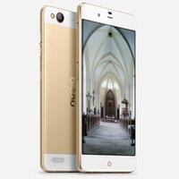 al por mayor sim zte-Original ZTE Nubia Mi Praga 4G FDD Smartphone 5.2Inch FHD Pantalla 3G RAM 64G ROM Snapdragon615 MSM8939 Octa Core 13.0MP