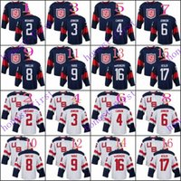 american red wine - team usa matt niskanen jack johnson American Premier Hockey Jerseys Ice Winter Home Away Jersey Stitched Authentic