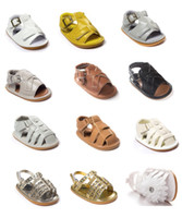 baby boy leather sandals - DHL Boys shoes Baby Moccasin babies First Walker Shoes girls summer sandals Soft PU Leather baby shoes kids moccs Multy Color