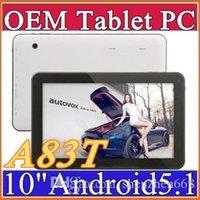 Date Allwinner A83T 10 pouces Octa de base 1024 * 600 tablet pc 1GB RAM 16GB ROM Android 5.1 Bluetooth HDMI USB OTG D-10PB