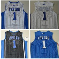 best basketball colleges - 2016 Blue white College Basketball Authentic Jersey Material Rev Basketball jersey Best quality Embroidery Logos