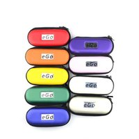 Wholesale Electronic cigarette Ego Zipper Case for E Cigarette Bag Large Middel Small Size with Ego Logo Colorful Carry Case for E cig Kits