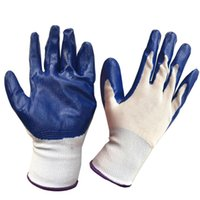 Wholesale Against Oils Pairs Abrasion Dish Washing Resistance Neoprene Protection Gardening Nitrile Gloves
