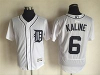 al collection - Detroit Tigers Jersey Mens Al Kaline White Flexbase Collection Baseball Jersey Stitched Name Number and Logos