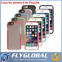 apple battery check - 2016 Tech Evo D30 Check Case For Samsung Galaxy S6 TPU Soft Case Utral Thin Colors for iphone5 iphone6 S i6plus With Retail Package
