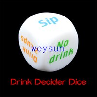 Wholesale NEW Drink Decider Die Games for Drinking Games