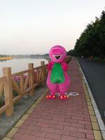 barneys clothes - barney the purple dragon mascot cartoon garment anime show custom clothing