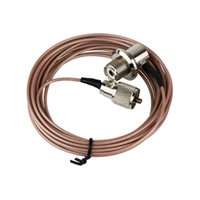 best coaxial cables - NEW Best Price Pink Meter Coaxial Cable UHF PL Male to Female for Walkie Talkie Mobile Radio Antenna