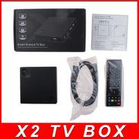 Beelink X2 Android TV 4,4 TV BOX H3 Quad-Core 1.5Ghz 1Go 8 Go 4K Vidéo UHD 1080P Wifi Smart TV Player HDMI XMBC android tv box 20PCS