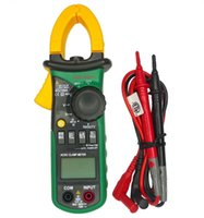 Wholesale Mastech MS2108A Auto Range DC AC Current Digital Clamp Meter Multimeter Voltage Frequency Volt Meter Tester