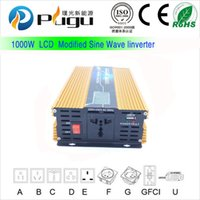 Wholesale W Car USB DC V to AC V Power Inverter modified sine wave inverter