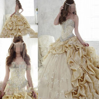 ball for children - Ball Gown Sweetheart Girls Pageant Dresses For Teens Beaded Sash Crystals Ruffles Flower Girls Dresses Lace Lace Up Back Child Prom Dress