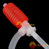 Wholesale ChinaStock Portable Manual Car Siphon Hose Gas Oil Water Liquid Transfer Hand Pump Sucker Inflatable Pump