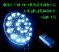 Wholesale 22 Led Rechargeable Led Lights Flying Disk Emergency Led Bulbs Lighting W Camping Outdoor Lamp with Wireless Remote Control