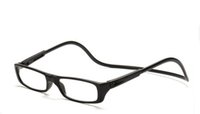Wholesale New Magnetic Folding Readers Reading Glasses Neck Hang Unisex