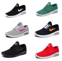 art canvas sale - 2016 new janoski max Mens Running Shoes new design air mesh mens womens sb stefan janoski max Shoe For Sale size