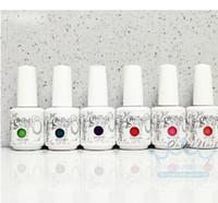 Wholesale Gelish harmony Nail Polish colors LED UV Gel nail polish Nail art lacquer Soak off nail gel French nail