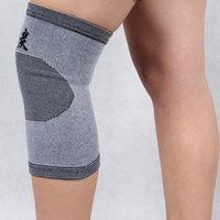 bamboo origin - The source of origin bamboo charcoal knee Ultra thin knitting warm basketball sport knee Adult protective devices