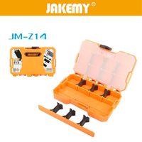 Wholesale JAKEMY JM Z14 Plastic Tool Box Double Sided Accessories Box Storage Case x115 x mm Detachable Compartments Multi function