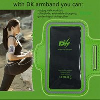 android phone armband - DK Sports Running Armband Running Bag Workout Armband Holder Pounch For iphone6S Plus Plus Android Smart Phone