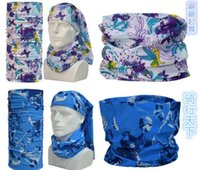 Écharpe élastique multifonction Écharpe Casquettes Bicyclette Bicyclette Bandanas Seamless Sport Magic Headband Neck Tube Masque Wrap Gift Digital Custom