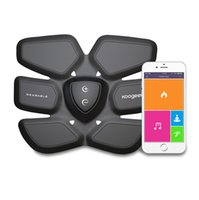 Wholesale Koogeek Smart Health Fitness Gear Fat Burning with Wireless Charging Pad App Function for Abdomen Fit Training Black Color