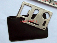 Wholesale Function Saber Card Knife Multi Pocket Survival Tools Card Outdoor Multifunction knife With Pouch