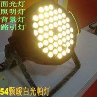 Wholesale 54 w K warm white led par light high brightness for stage show led par light warm white