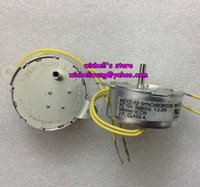 ac synchronous - 2pcs Synchronous gear motor AC12V Micro AC mortor V r min large torque W new