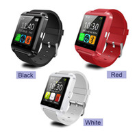 android fancy - Smart watch u80 bluetooth cheap android mtk CPU fancy silicone fashion bluetooth watch wrist smartband iPhone IOS Android