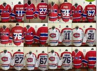 anti american - Montreal Canadiens Brendan Gallagher Lace Front American Premier Hockey Jerseys Ice Winter Home Away Jersey Stitched Authentic