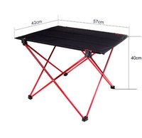 Wholesale Portable Outdoor Folding Table Desk Aluminium Alloy Ultra light Durable Foldable Table for Camping Picnic