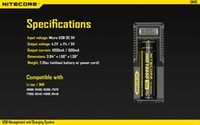 Wholesale Best Selling Original Nitecore UM10 Charger USB powered Li ion battery charger UM10 with LCD Display