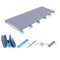 Wholesale Outdoor BRS Folding Picnic Cot Aluminium Alloy Bed Portable Camping Lounger