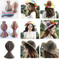 area holidays - party hat simple colorful Tourist Area Magic paper vase cap honeycomb paper hat craft hats Factory sales wedding holiday Creative Toy