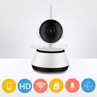 Wholesale 720P wifi Smart Camera HD Mini IR WiFi VEDIO PTZ alarm CCTV P2P Support Android IOS APP Network IP Security Cam