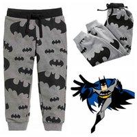 baby sweatpants - Baby Boys Infant Harem Pants Batman print Cotton Harem Pants spring autumn Trousers Clothing Bottoms Trousers Sweatpants KKA644